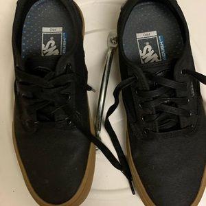 VANS! Ultracush Lite pleather shoes